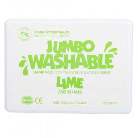 Jumbo Stamp Pad Lime Green Washable