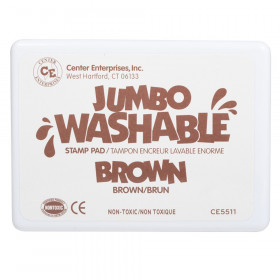 Jumbo Stamp Pad Brown Washable