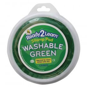 Jumbo Circular Washable Stamp Pad, Green