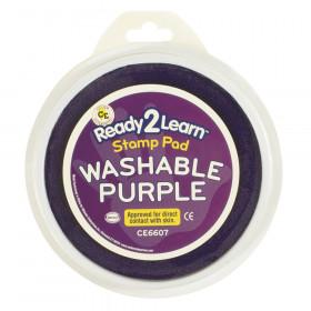 Jumbo Circular Washable Stamp Pad, Purple