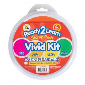 Jumbo Circ Wash Pads Vivid Kit