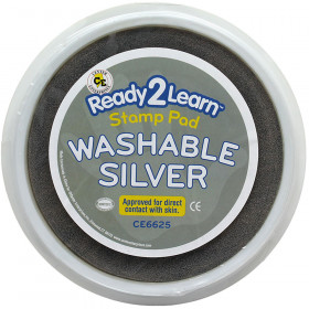 Jumbo Circular Washable Pads Silver