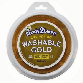 Jumbo Circular Washable Pads Gold