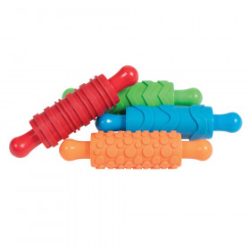Paint and Clay Texture Rollers, Set of 4