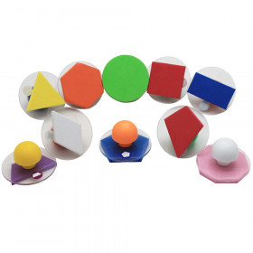 Ready2learn Giant Geometric Shapes Stampers