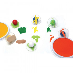 Ready2learn Giant Vegetable Stamps Set Of 6