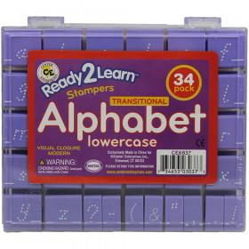 Visual Closure 1 Lower Modern Set Alphabet Stamps