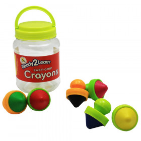 Easy Grip Crayons, Set of 6