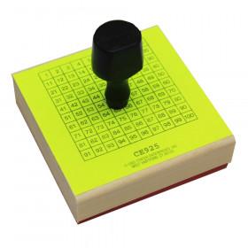 Stamp 1-100 Chart 3-3/4 X 3-3/4
