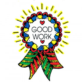 Stamp Good Work Award