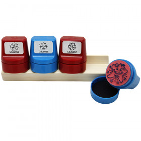 Jumbo Stampers Incentive Set 4/Pk W/ Desk Caddy