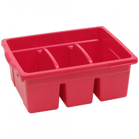 Leveled Reading Large Divided Book Tub, Red