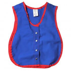 "Manual Dexterity Snap Vest, 13.5""W x 17.5""L"