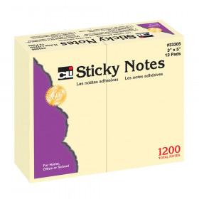 """Sticky Notes, 3"""" x 5"""" Plain"""