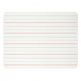 "Dry Erase Board, One Sided, Lined, 9"" x 12"""