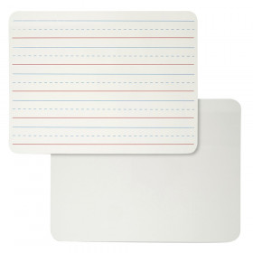 """Dry Erase Board, Two Sided, Lined/Plain, 9"""" x 12"""""""