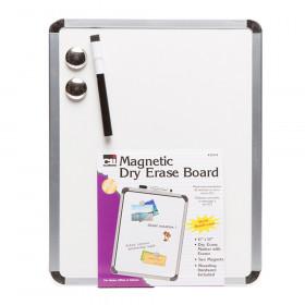 Magnetic Dry Erase Board 11X14 W/Eraser  Marker & 2 Magnets