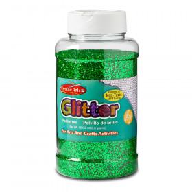 Creative Arts by Charles Leonard Glitter, 16 oz. Bottle, Green