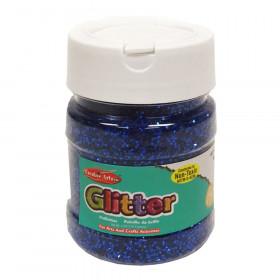 Creative Arts Glitter, 4 oz. Jar, Blue