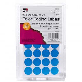 Color Coding Labels Blue