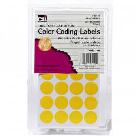 Color Coding Labels, Yellow