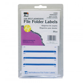 File Folder Labels Blue 248/Pk