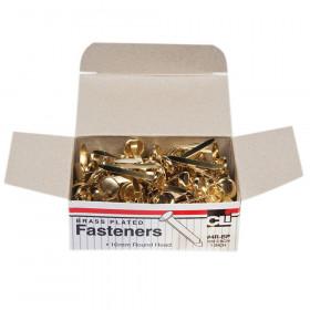 Brass Paper Fasteners 1 100/Box