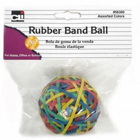 Rubber Bands Asst Colors