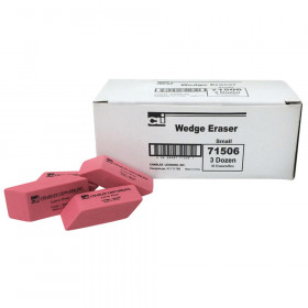 Eraser - Synthetic - Latex Free - Wedge Shape - Small