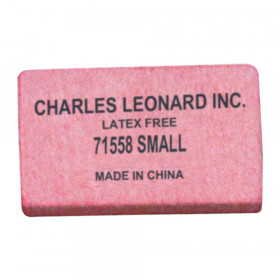 Pencil Eraser - Synthetic - Latex Free - Block Shape - Small - 80/box