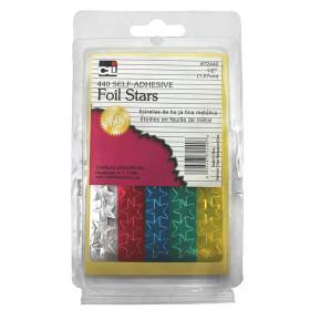 Foil Stars 1/2 Inch 440 Pk