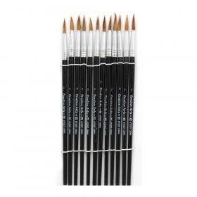 """Brushes - Water Color, Pointed, #7 - 3/4"""" Camel Hair"""