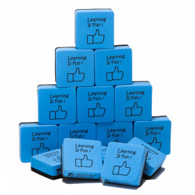 Whiteboard Eraser Learning Is Fun 15 Pk