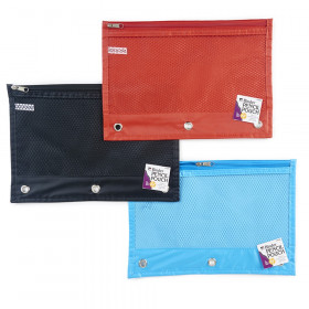 Pencil Pouch, Assorted Colors, Set of 24