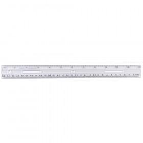 12In Plastic Ruler Clear