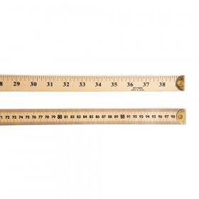 Ruler  Meter Stick W/Metal End