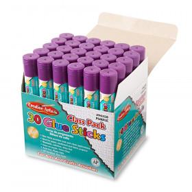 Economy Glue Classpack, .28 oz., 30 ct., Purple