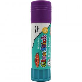Glue Stick, Non-Toxic, 0.74 oz., Purple