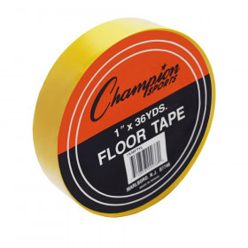 "Floor Marking Tape, 1"" x 36 yd, Yellow"