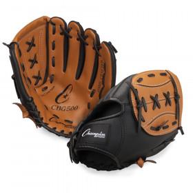 "Leather & Vinyl 11"" Baseball/Softball Glove"