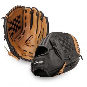 "Leather & Vinyl 12"" Baseball/Softball Glove"