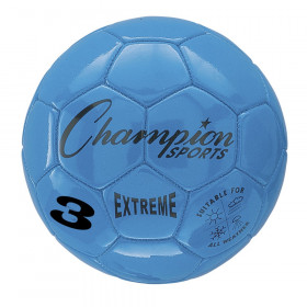 Extreme Soccer Ball, Size 3, Blue