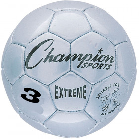 Soccer Ball Size3 Composite Silver