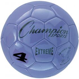 Soccer Ball Size4 Composite Prpl