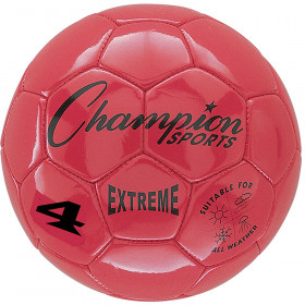 Soccer Ball Size4 Composite Red