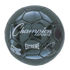 Soccer Ball Size 5 Composite Black