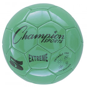 Extreme Soccer Ball, Size 5, Green