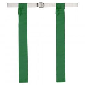 Flag Football Set, Green, Pack of 12