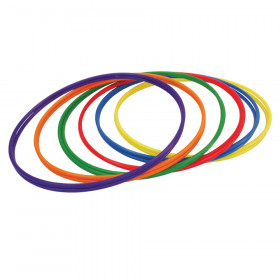 "Plastic Hula Hoops, 30"", Pack of 12"