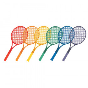 Tennis Racket Set, 6 Assorted Colors